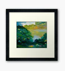 September Woods Framed Print