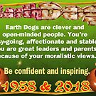 1958 2018 Chinese zodiac born in year of Earth Dog by Valxart by Valxart