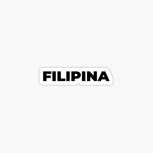 Filipina Sticker