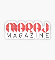 Maraj Magazine Shirt Sticker