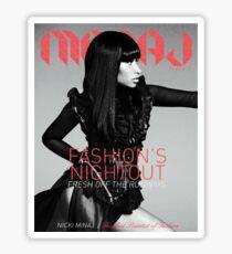 Maraj Magazine Shirt (Cover) Sticker