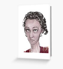 miss whimsey Greeting Card