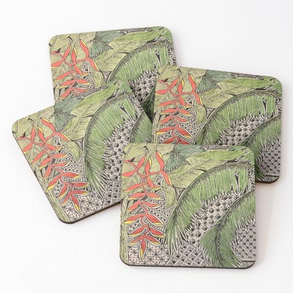 Bali Inspiration Coasters (Set of 4)