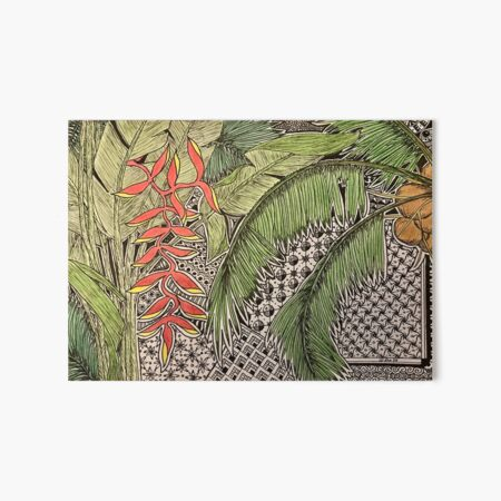 Bali Inspiration Art Board Print