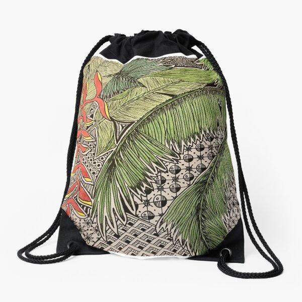 Bali Inspiration Drawstring Bag