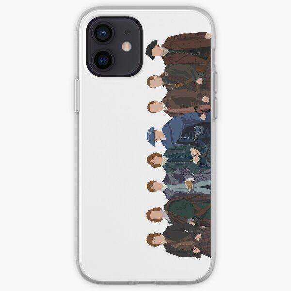 J.A.M.M.F.   Pas de texte Coque souple iPhone