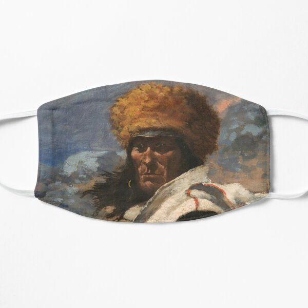 Frederic Remington - An Indian Trapper Detail 1 of 2 Mask