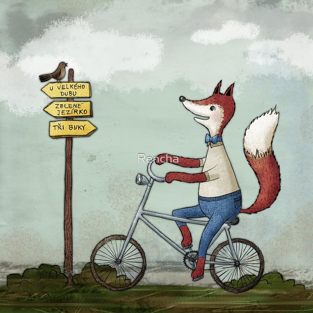 Fox by Rencha