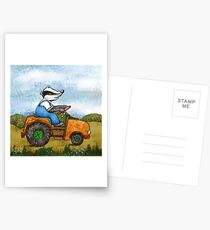Badger Postcards