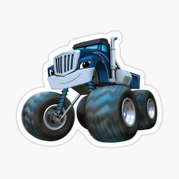 Blaze and the Monster Machine - blue Sticker