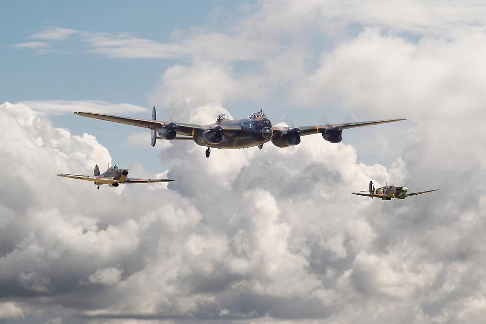 Battle of Britain - Memorial Flight by Pat Speirs