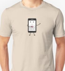 Friendly Smartphone Unisex T-Shirt