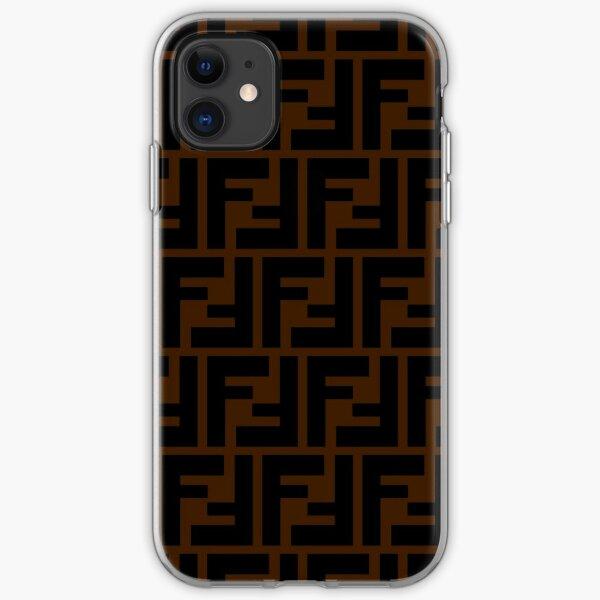 Popular fendi iPhone Soft Case
