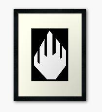 White Hand of Isengard Framed Print