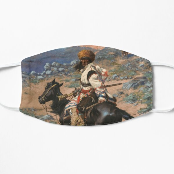 Frederic Remington - An Indian Trapper Mask