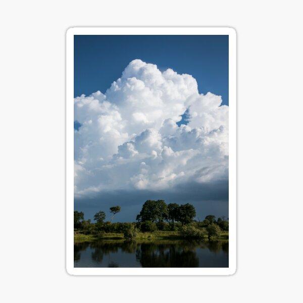 Zambezi Storm Clouds Sticker