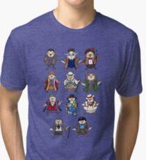 Doctor Hoots Tri-blend T-Shirt