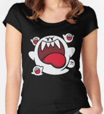 Super Mario - Boo Squad Women's Fitted Scoop T-Shirt