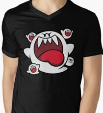 Super Mario - Boo Squad Mens V-Neck T-Shirt