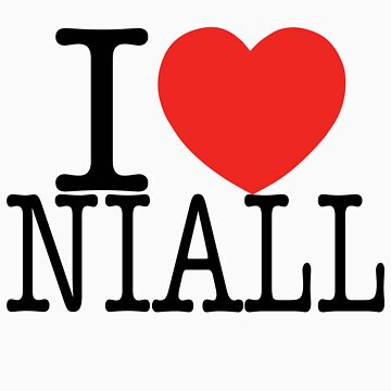 ONE DIRECTION - I LOVE NIALL T-SHIRT by DisneyLooney