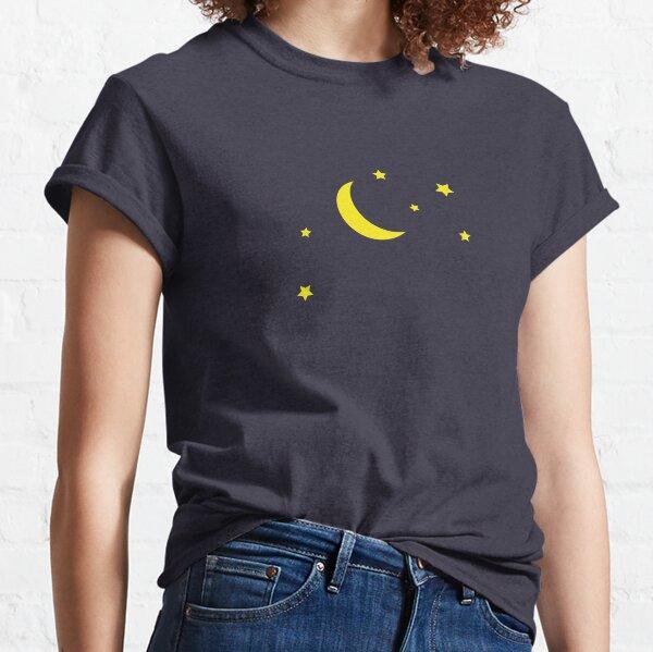 Mond und Sterne Classic T-Shirt