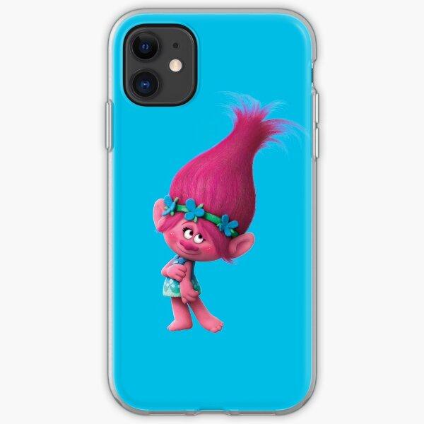 Poppy trolls   iPhone Soft Case