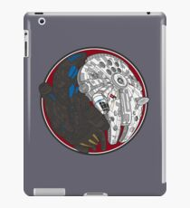 Sci-Fi Yin Yang Red iPad Case/Skin