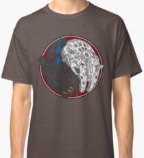 Sci-Fi Yin Yang Red Classic T-Shirt