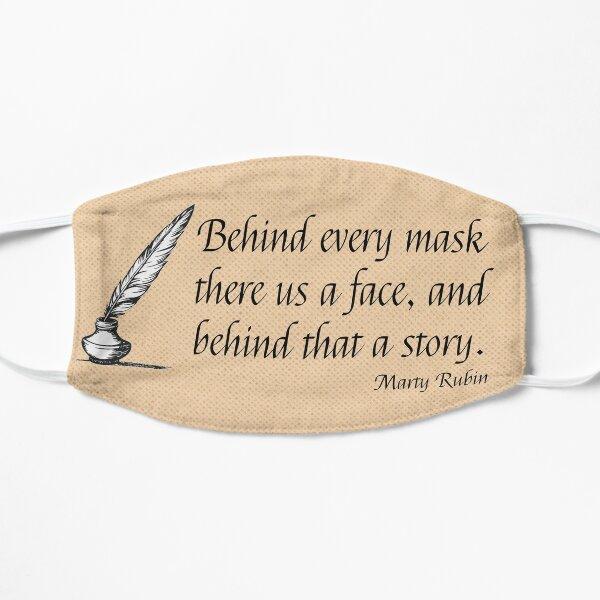 Literary Flat Mask