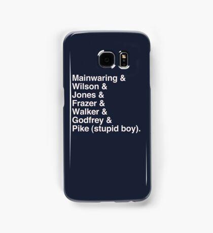 Jetset Army Samsung Galaxy Case/Skin