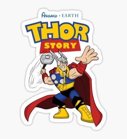 A God's Story Sticker