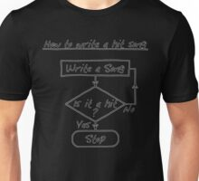 How To Write A Hit Song [Outlined] Unisex T-Shirt
