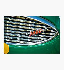 1959 Austin Healey Grill Detail Photographic Print