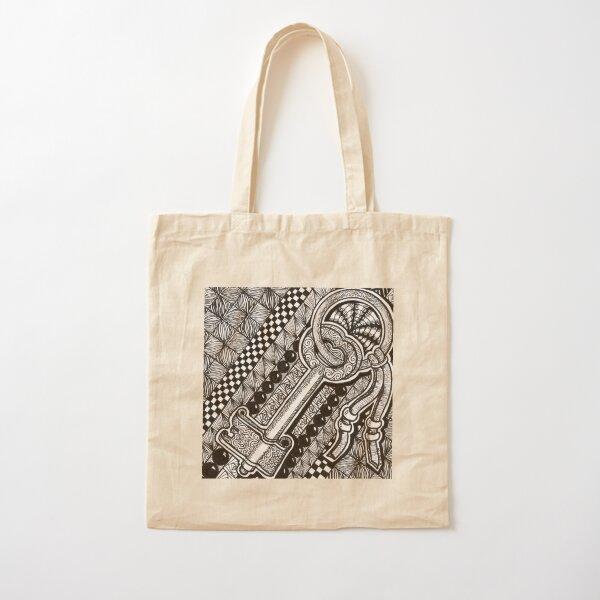 Key Cotton Tote Bag