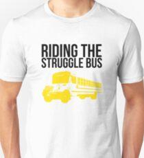 Riding the (normal) Struggle Bus Unisex T-Shirt