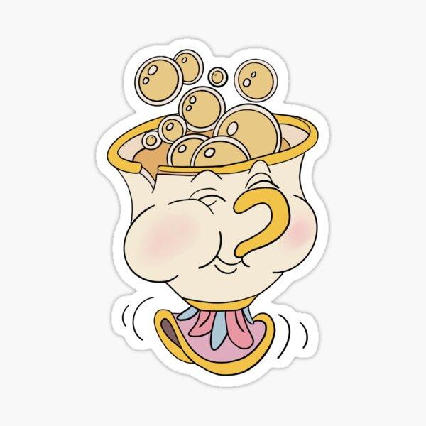 Chip teacup Sticker