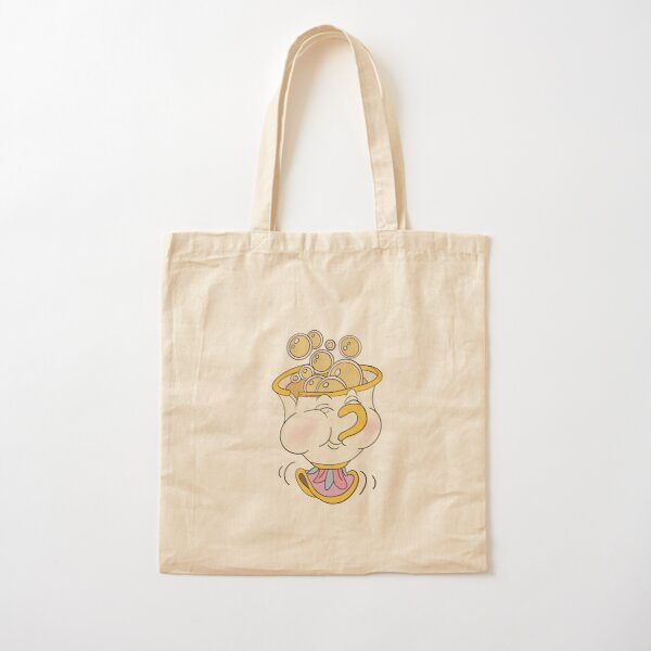 Chip teacup Cotton Tote Bag