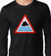 Severe Flood Warning Long Sleeve T-Shirt