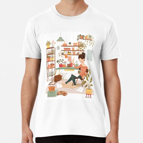 Cozy Workspace Premium T-Shirt