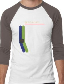 Davisville 1966 station Men's Baseball ¾ T-Shirt