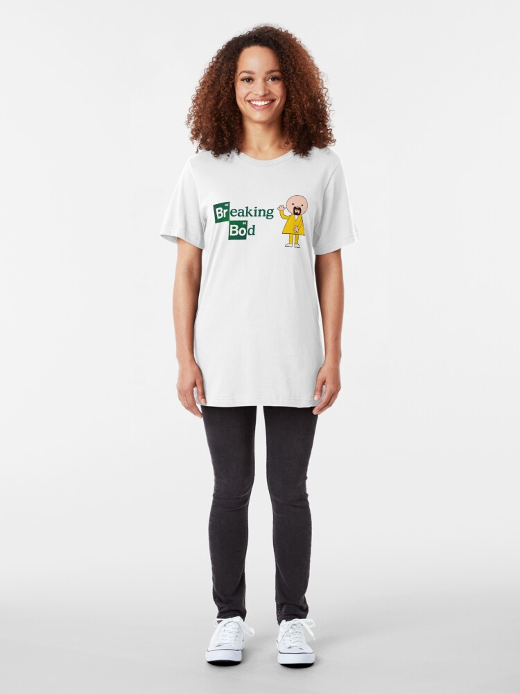 Alternate view of Breaking Bod Slim Fit T-Shirt