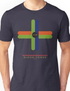 Bloor-Yonge 1966 station Unisex T-Shirt