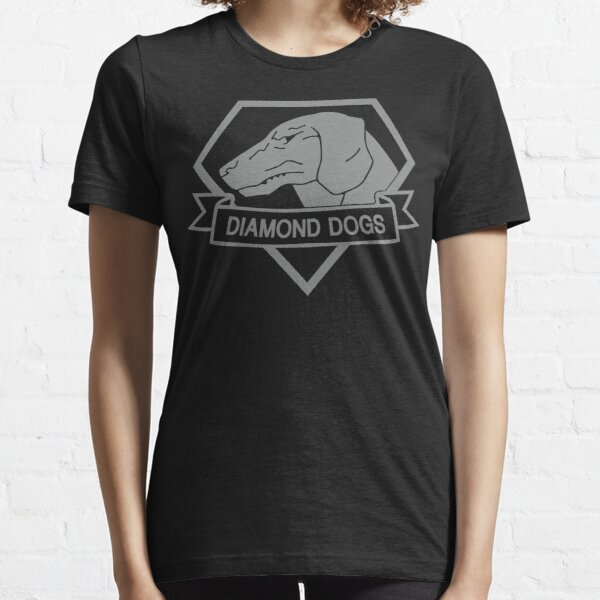 Metal Gear Solid - Diamond Dogs (Gray) Essential T-Shirt