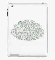 sheep sleeps iPad Case/Skin