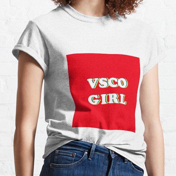 vsco girl graphic  sassy retro graphic illustrative tee retro vintage tumblr  Classic T-Shirt