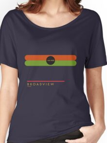 Broadview 1966 station Women's Relaxed Fit T-Shirt