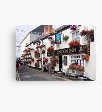 padstow building Canvas Print