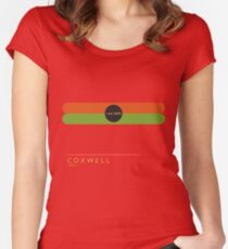 Coxwell 1966 station Women's Fitted Scoop T-Shirt