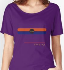 Spadina 1966 station Women's Relaxed Fit T-Shirt