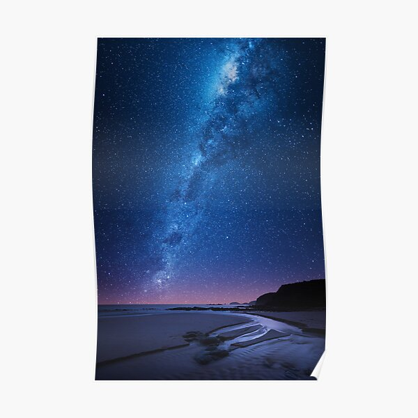 Nebula over Bushrangers Bay Poster